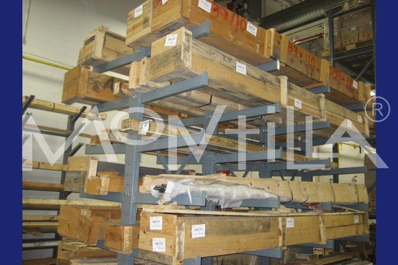 para el almacenaje de unidades de carga de gran longitud o con medidas variadas.