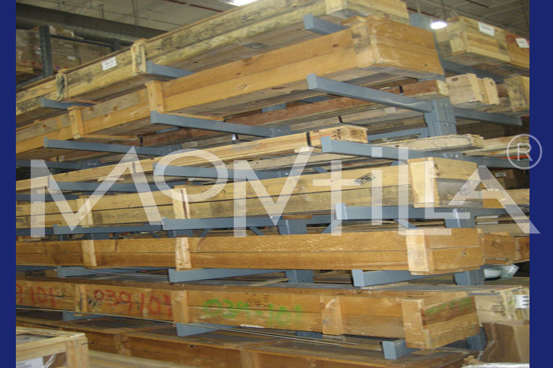 Racks almacen material barras tubos perfiles, vigas